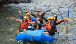 White water rafting at our 2014 staff retreat